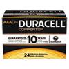 Coppertop Alkaline Batteries With Duralock Power Preserve Technology, Aaa, 24/bx