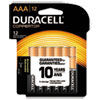 Coppertop Alkaline Batteries With Duralock Power Preserve Technology, Aaa, 12/pk