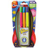 Scented Stix Markers, Assorted Intergalatic Neon Colors, 6/Set