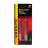 QuickPoint Snap-Off Straight Handle Retractable Knife Replacement Blade, 10/Pack