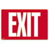SIGN,GLOW IN DARK EXIT,WH