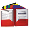 FOLDER,2-PKT,POLY PORT