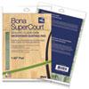 "Supercourt Athletic Floor Care Microfiber Dusting Pad, 60"", Green"