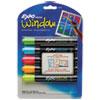 Neon Dry Erase Marker, Bullet Tip, Assorted, 5/Set 1752226