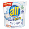 Mighty Pacs Free and Clear Super Concentrated Laundry Deterg