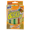Sponge Daddy Dual-Sided Sponge, 3 3/8 X 5.563 X 2 5/8, Assorted,4/pk,20pk/ctn