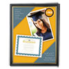 All Purpose Document Frame, 8 1/2 X 11 Insert, Black/gold, 3/pack