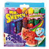 Washable Markers, Chisel, Assorted Colors, 14/Set
