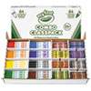 My First Crayons and Markers Combo Classpack, Eight Colors, 128/Set 818128