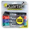 EnduraGlide Dry Erase Marker, Chisel Tip, Assorted Colors, 4/Set