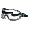 Stryker Safety Goggles, Chemical Protection, Black Frame