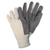 GLOVES,CANVAS,WH
