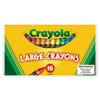 Large Crayons, 16 Colors/Box 520336