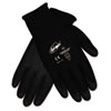 Ninja Hpt Pvc Coated Nylon Gloves, Large, Black, Pair