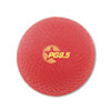 "Playground Ball, 8-1/2"" Diameter, Red"