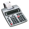 HR-150TM Two-Color Printing Calculator, 12-Digit LCD, Black/Red CSOHR150TM