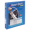 "Heavy-Duty View Binder w/Locking 1-Touch EZD Rings, 1"" Cap, Periwinkle"