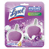Hygienic Automatic Toilet Bowl Cleaner, Cotton Lilac, 2/Pack