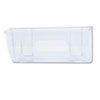 Oversized Magnetic Wall File Pocket, Legal/Letter, Clear