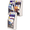 deflect-o® Multi-Tiered Desktop or Wall-Mount Literature Holders