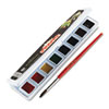 Picture of Professional Watercolors 8 Assorted ColorsHalf Pans