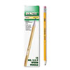 Oriole Woodcase Pencil, F #2.5, Yellow, Dozen