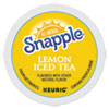 Flavored Iced Tea K-Cups, Lemon, 22/Box