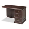 Governor's Executive Right Single Pedestal Return, 48w x 24d x 30h, Mahogany