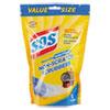 Non-Scratch Soap Scrubbers, Blue, 8/pack, 6 Packs/carton