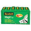 Magic Tape Refill, 3/4 X 1296, 1 Core, Clear, 6/pack