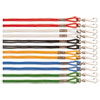 Lanyard, J-Hook Style, 22 Long, Assorted Colors, 12/pack