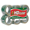 Heavy-Duty Carton Packaging Tape, 3 X 55yds, Clear, 6/pack