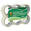 Commercial Grade Packaging Tape, 2 X 22, 1.88 X 55 Yds, Clear, 3 Core, 6/pack