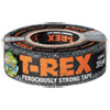 T-Rex Duct Tape, 17 Mil, 1.88 X 35 Yds, 3 Core, Silver