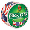 Colored Duct Tape, 9 Mil, 1.88 X 10 Yds, 3 Core, Us Flag