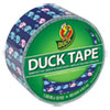 Colored Duct Tape, 6 Mil, 1.88 X 10 Yds, 3 Core, Whale Of Time