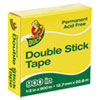 Permanent Double-Stick Tape, 1/2 X 900, 1 Core, Clear