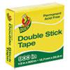 TAPE,DBL STCK 1/2X900,CLR