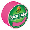 Colored Duct Tape, 9 Mil, 1.88 X 15 Yds, 3 Core, Neon Pink