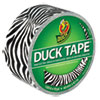 Colored Duct Tape, 9 Mil, 1.88 X 10 Yds, 3 Core, Zebra