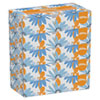 White Facial Tissue, 2-Ply, 100 Tissues/box, 5 Boxes/pack, 6 Packs/carton
