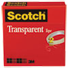 Transparent Tape 600 2p12 72, 1/2 X 2592, 3 Core, Transparent, 2/pack