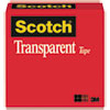 Transparent Tape, 1 X 2592, 3 Core, Clear