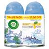 Freshmatic Ultra Automatic Spray Refill, Fresh Waters, Aerosol, 6.17 Oz, 2/pack