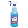 Glass Cleaner, 32oz Spray Bottle, 12/Carton
