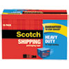 3850 Heavy-Duty Packaging Tape Cabinet Pack, 1.88 X 54.6yds, 3 Core, 18/pack