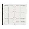 Two-page-per-week format planner refill.