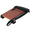 Heavy-Duty Wood Base Guillotine Trimmer, 15 Sheets, 12 X 15