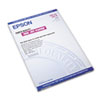 "Epson Photo Quality Ink Jet Paper 13"" x 19"", 100 Sheets"