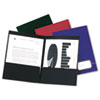 Oxford® Monogram Executive Twin Pocket Folders